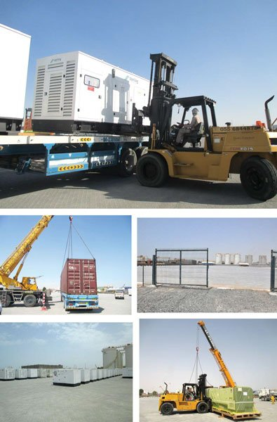 LighthouseOpen Yard Storage In Jebel Ali From CSS Group - Lighthouse